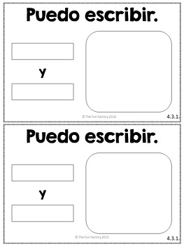 Spanish Kindergarten Writing for December~ NO PREP, JUST PRINT!