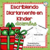 Spanish Kindergarten Writing for December~ NO PREP, JUST PRINT!