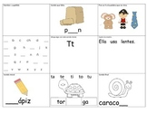 Spanish Kindergarten phonics skills