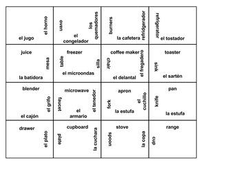 Spanish Kitchen Puzzle