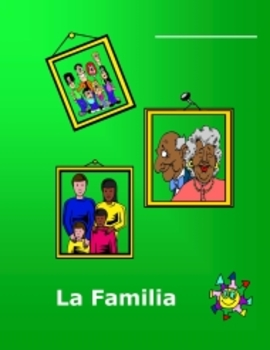Spanish L1 Family Workbook plus Flashcards