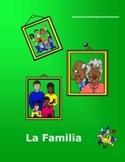 Spanish L1 Family Workbook plus Flashcards