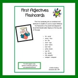 Spanish - First Adjectives Flashcards