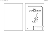 Spanish LOTE DIY student Dictionary/Glossary printable