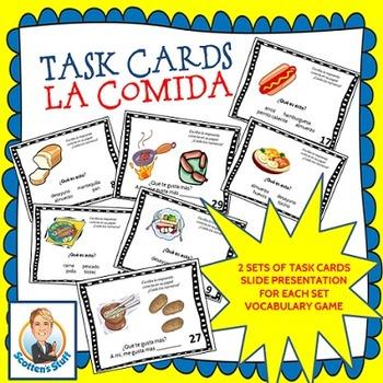 Spanish La Comida Food Bundle