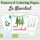 Spanish La Navidad Posters and Coloring Pages