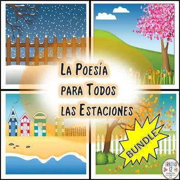 Spanish: La Poesía para Todos las Estaciones  BUNDLE
