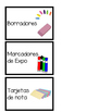 Spanish Labels for Materials and Groups