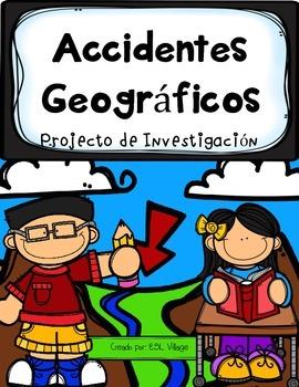 In Spanish | Landforms {Accidentes Geográficos / Projecto