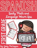 Spanish Language Arts and Math Morning Work *February Edition*