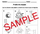Spanish Language Exam