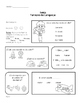Spanish Language Homework for Speech Therapy