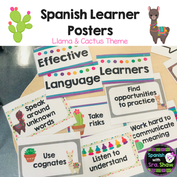 Spanish Language Learners Bulletin Board Printables
