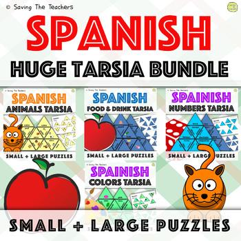 Spanish Language Skills Tarsia Bundle