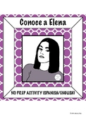 Spanish Language and Cultural Activity: Elena