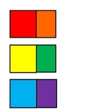 Spanish Language and Culture for Preschoolers - Color Slips