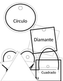 Spanish Language and Culture for Preschoolers - Shapes Mobile