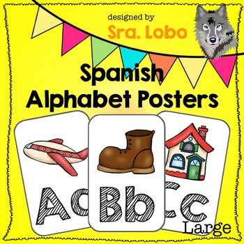 Spanish - Large Alphabet Posters