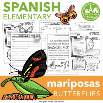 Spanish Las Mariposas - Butterflies