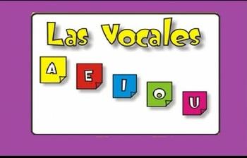 Spanish - Las Vocales