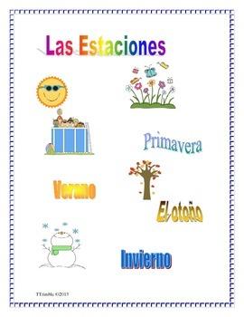 Spanish Las estaciones del año