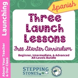 Spanish Launching Lessons - Stepping Stones FREE Multi-Lev