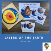 Spanish - Layers of the Earth Print (Montessori)