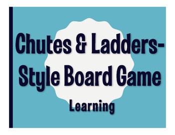 Spanish Learning Chutes and Ladders-Style Game