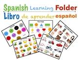 Spanish Learning Folder ( Carpeta de aprendizaje en español)