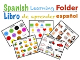 Spanish Learning Folder ( Carpeta de aprendizaje en español)