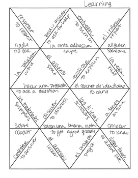 Spanish Learning Jigsaw Puzzle