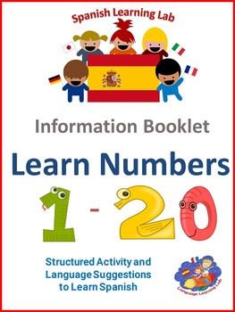 Spanish Information Resource booklet - Learn Numbers 1 - 2