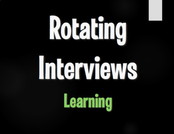 Spanish Learning Rotating Interviews