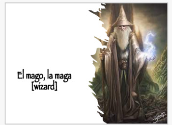 Spanish Legends and Stories Vocabulary Lesson