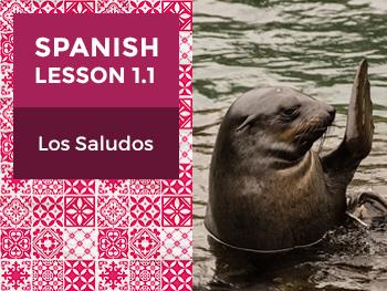 Spanish Lesson 1.1: Los Saludos – Greetings