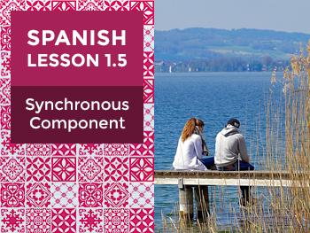 Spanish Lesson 1.5: Synchronous Component - Teacher Notes