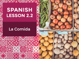 Spanish Lesson 2.2: La Comida - Food