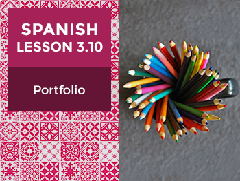 Spanish Lesson 3.10: Ser y Estar - Portfolio
