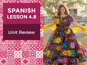 Spanish Lesson 4.8: Así Somos - Unit Review