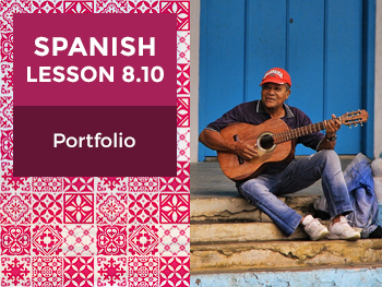 Spanish Lesson 8.10: Un Carácter - Portfolio