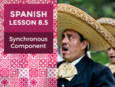 Spanish Lesson 8.5: Synchronous Component - Teacher Notes