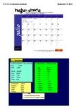 Spanish Lesson: El calendario - the calendar