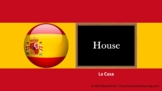 Spanish Lesson : House (Exercises and Answers included)