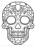 Dia de los Muertos Spanish lesson materials (Nov 1-2)