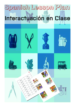 Spanish Lesson Plan: Classroom Interaction|Vocabulary