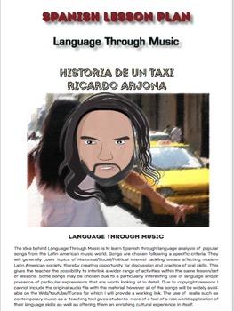 Spanish Lesson Plan - Language through Music - Song: Historia de un Taxi