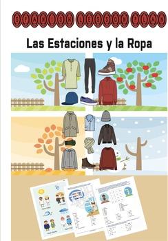 Spanish Lesson Plan: Las Estaciones y la Ropa