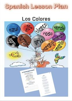 Spanish Lesson Plan: Los Colores