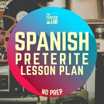 Spanish Lesson Plan – No Prep Grammar, Speaking, Reading,