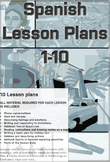 Spanish Lesson Plans Bundle 1